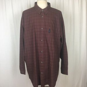 Columbia Men's 3XLT Tall Men's Shirt Plaid LS